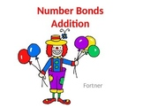Number Bonds Addition 1-10 PowerPoint with Student Worksheet