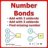 Number Bonds Addition within 20