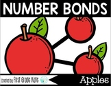 Number Bond Task Cards Fall Apples