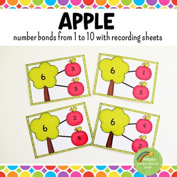 Number Bonds - Apples
