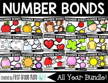Number Bond Task Card BUNDLE