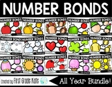 Number Bond Task Card BUNDLE