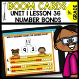 Number Bonds and Rekenrek Practice using Boom Cards  Module 1 Lesson 36