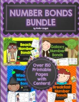 Number Bonds Bundle Pack by Kinder League