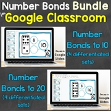 Number Bonds Bundle for Google Classroom, Google Slides Di