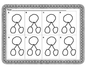 Number Bonds Center:  Bear Buddies:  Kindergarten Module 4:  K.OA.3