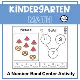 Number Bonds Center to 8: Eureka Math Module 4 Topic C
