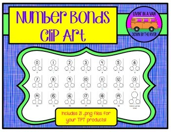 Number Bonds Clip Art