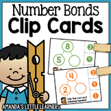 Missing Number Bond Cards