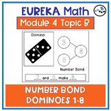 Number Bonds Clip Cards to 8: Eureka Math Module 4 Topic B