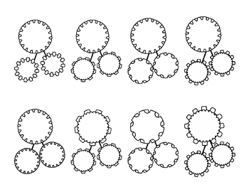 Number Bonds Commercial and Personal Use (Gears and Cogs)