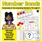 Number Bond Activities Through 10 Composing and Decomposing Numbers