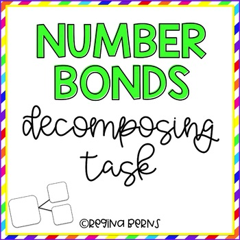 Number Bonds - Decomposing Task