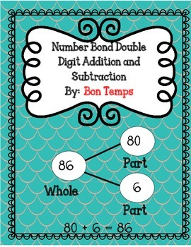Number Bonds Double-Digit Addition and Subtraction