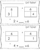 Number Bonds ~ Common Core ~ Exit Tickets ~ Free