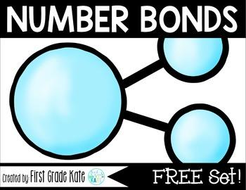 Number Bond Task Cards FREEBIE