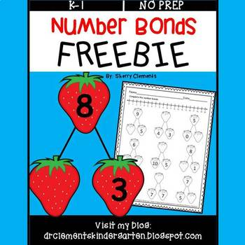 Number Bonds FREEBIE