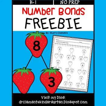 FREE DOWNLOAD : Number Bonds