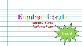 Number Bonds FREEBIE