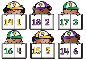 Math Center Number Bonds Facts to 20