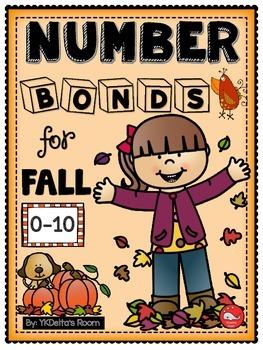 Number Bonds {Fall Theme}