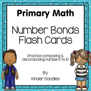 Number Bonds Flash Cards