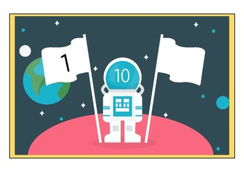 Number Bonds, Friends of Ten - Space theme!
