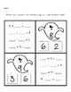 Number Bonds - Ghost Halloween Theme - No-prep Practice Pages