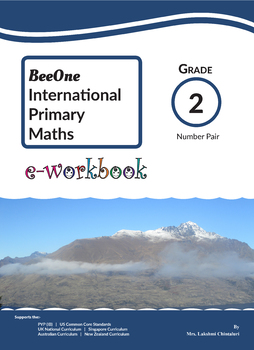 Grade 2 Math Number Pairs Workbook from BeeOne Books