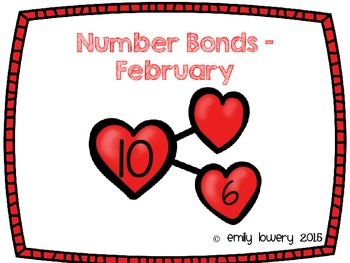 Number Bonds Hearts