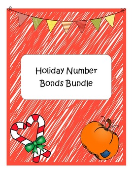 Number Bonds Holiday Bundle