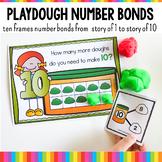 Ten Frames and Number Bonds Work:  Playdough Theme