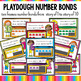 Ten Frames and Number Bonds Work:  Playdough Theme