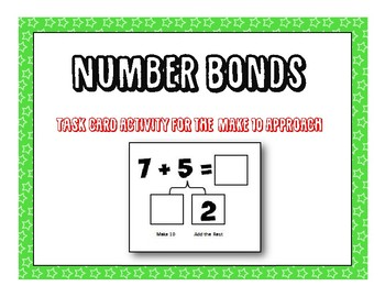 Number Bonds - Make Ten Approach