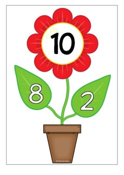 Number Bonds - Making 10 (Plants)
