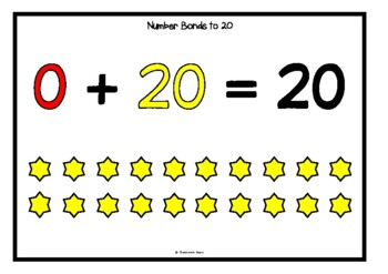Number Bonds - Making 20