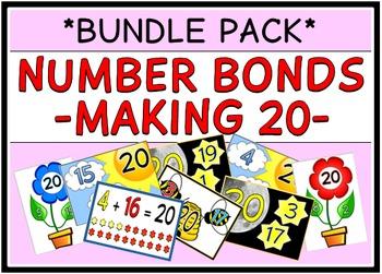 Number Bonds - Making 20 (BUNDLE PACK)