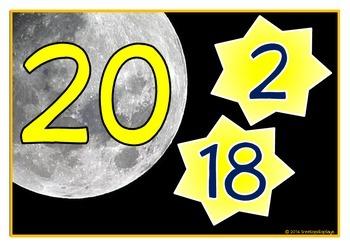 Number Bonds - Making 20 (Moon & Stars)