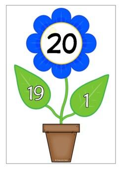 Number Bonds - Making 20 (Plants)