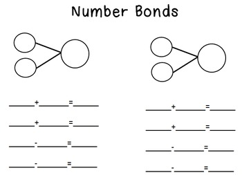 Number Bonds Mat