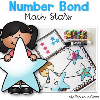 Number Bonds - Math Stars