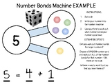 Number Bonds Maths Center/Tub