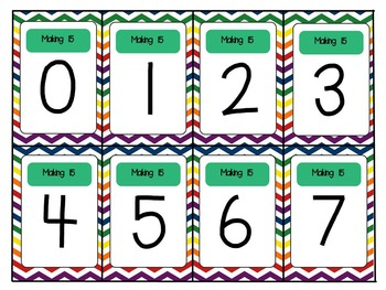 Number Bonds Memory Cards: Practice With Numbers 5-16