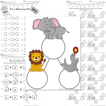 Operations and Algebraic Thinking for First Grade - BUNDLE!!!