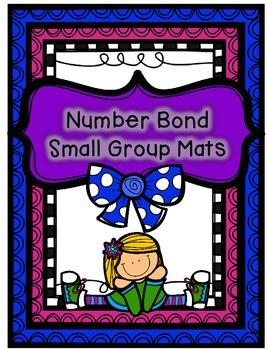 Number Sense Math Center- Number Bonds Small Group Practice Mats