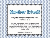 FREE Number Bonds - Numbers 5-12