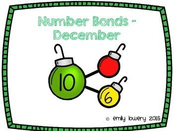 Number Bonds Ornaments