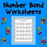 Number Bonds Packet