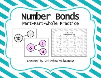 Number Bonds:  Part-Part-Whole