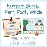 Number Bonds: Part, Part, Whole (Distance Learning-Google